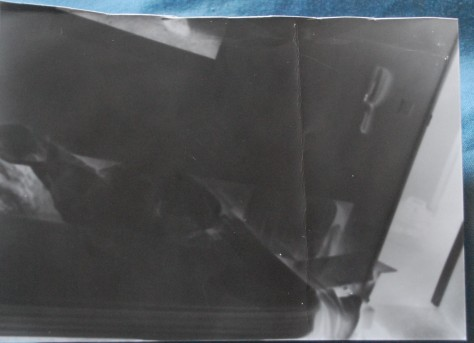 Paper negative, not very clear